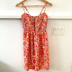 Bright Roxy Sundress